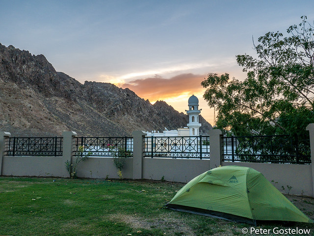 Park camp in Mutrah