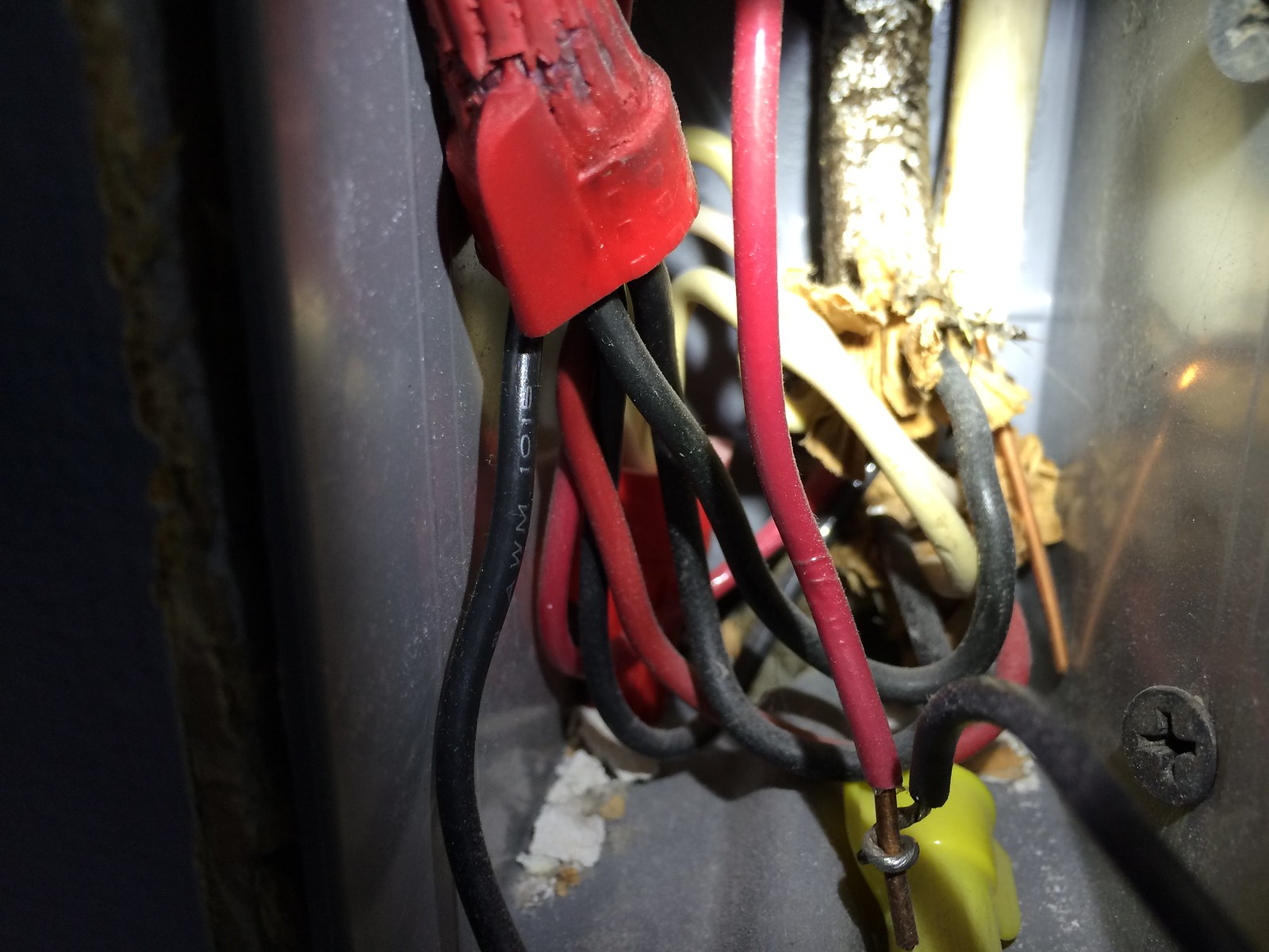 Dimmer Switch Ground Not Attached Exposed Hot Wire Do I Have A Home Wiring Light Red In My Room By Rr Reo On Flickr