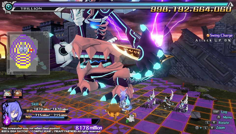 Trillion: God of Destruction on PS Vita