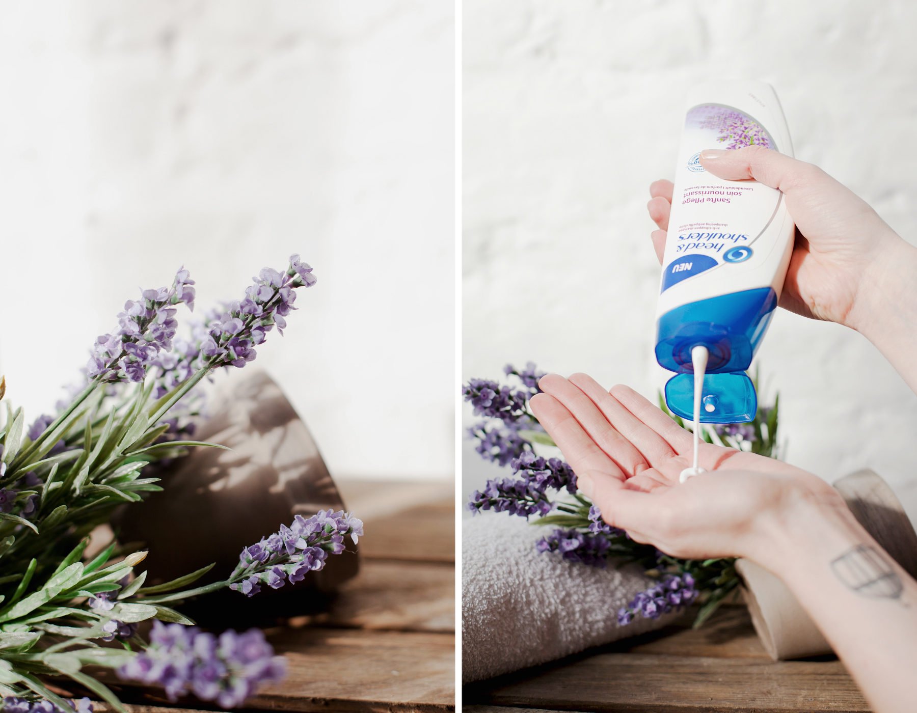 head & shoulders sanfte pflege lavendelduft lavendel lavender scent soin doux beauty beautyblogger product review haircare hair care antischuppen shampoo cats & dogs blog wie hund und katze ricarda schernus blogger düsseldorf berlin 6