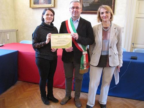 Il Comune di Castel Bolognese si aggiudica, per la seconda volta, l'Humana eco-solidarity award per la donazione di abiti usati