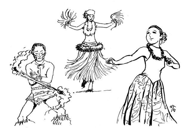 「スパリゾートハワイアンズのダンスショー」(福島県いわき市)/