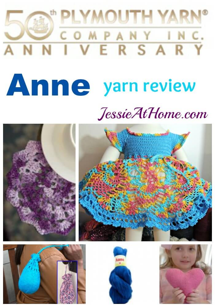 Plymouth Yarn Anne yarn review from Jessie At Home