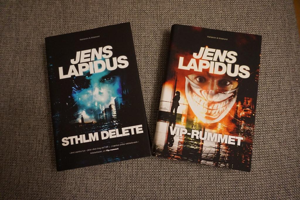 Sthlm Delete och Vip-rummet - Jens Lapidus