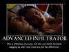 funny Summer Glau Cameron Phillips advanced infiltrator bed time nagging