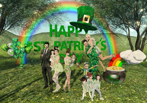 St. Patrick's Day 2016 OZ Family
