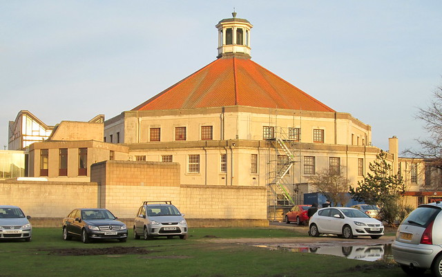 Beach Ballroom, Aberdeen, from west