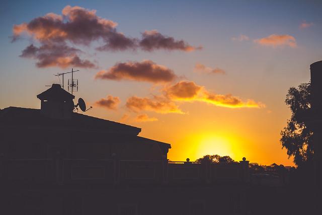 Sunset Ceuta :O