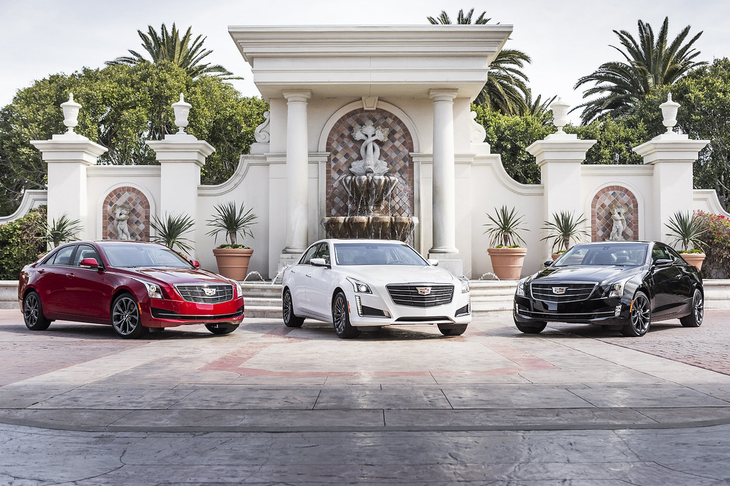 Cadillac introduces Black Chrome Package for ATS and CTS