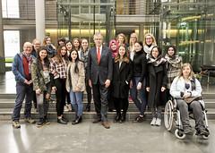Besuchergruppe der St-Laurentius-Schule aus Wuppertal am 15.3.2016