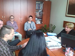 "Meeting between youth and local authorities within the framework of the activity ""Youth Taking Over Day"" in Prijedor"