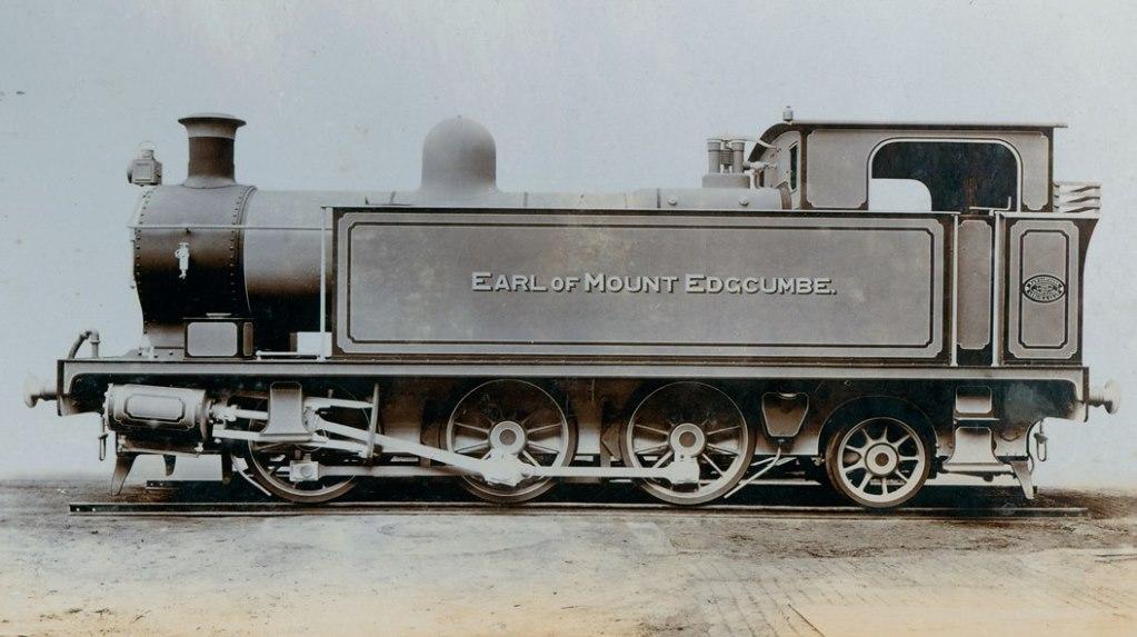 Side tank engine 'Earl of Mount Edgcumbe'