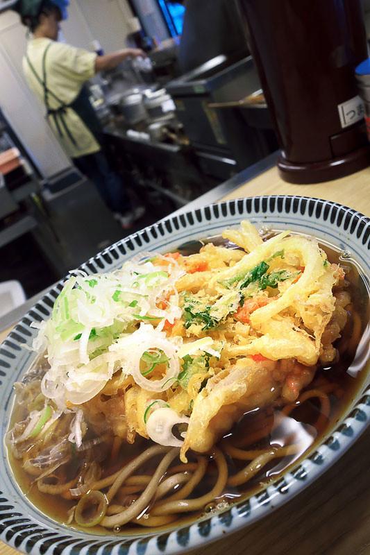 相鉄海老名駅の相州蕎麦の写真