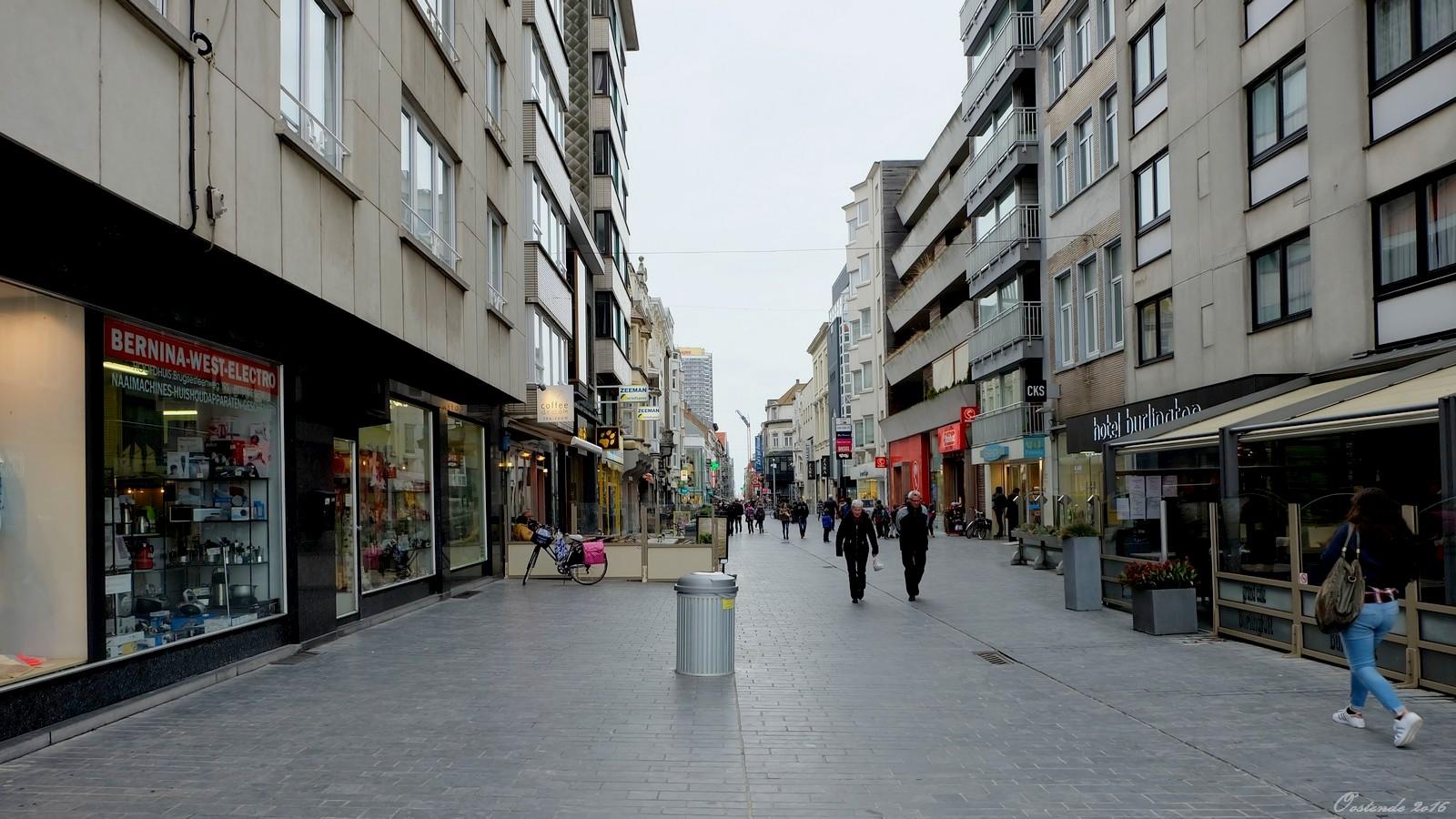 Kapellestraat, Oostende, Belgium