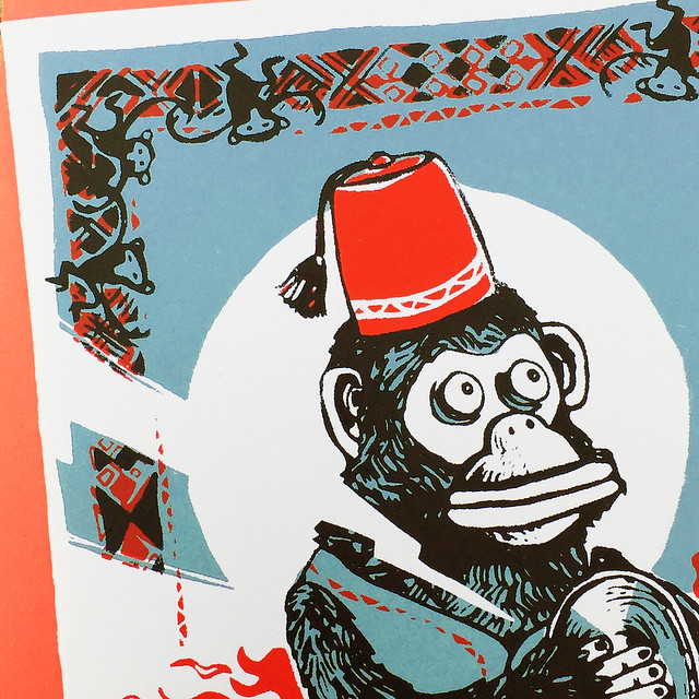 Year of the Monkey Card Detail