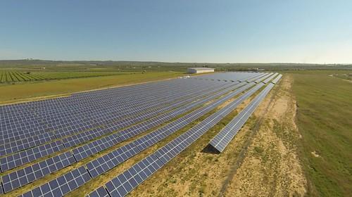 Planta solar fotovoltaica de la Generación kWh en Alcolea del Rio, Sevilla