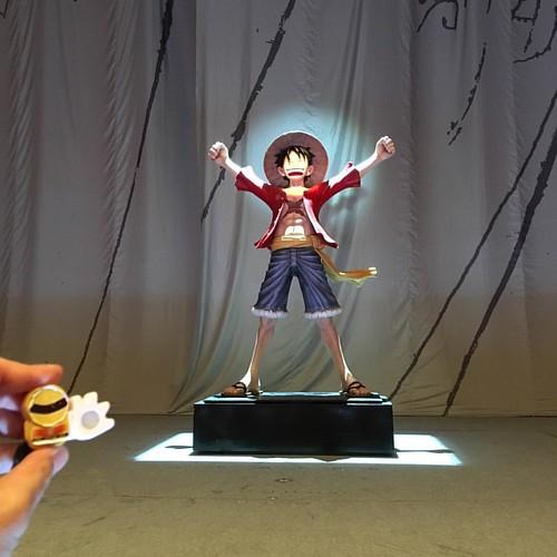 舞台の上に、海賊王になりたい人がいるよ