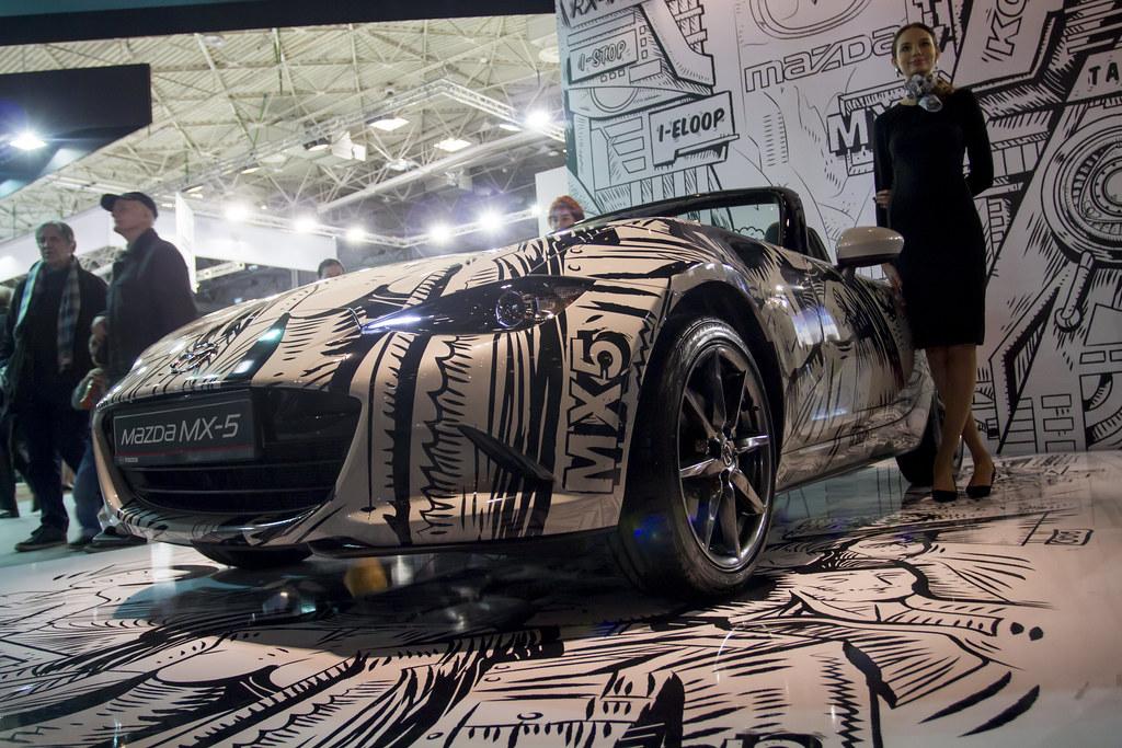 Mazda MX-5 - Motor Show Poznan / Poland