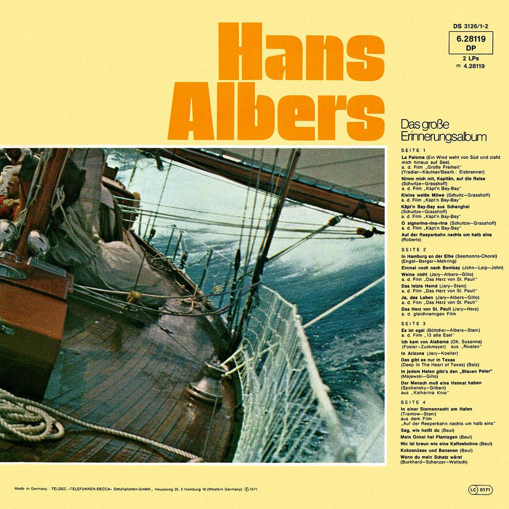 Hans Albers - Das große Erinnerungsalbum