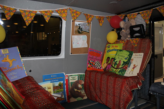 The Book Bus - London Book Fair 2016