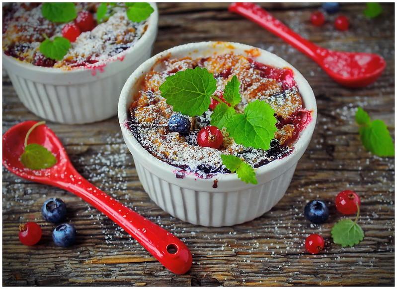 ...berry clafoutis_