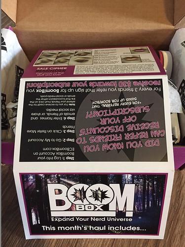 Boom Box - April