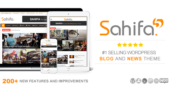 Sahifa v5.6.2 – Responsive WordPress News, Magazine, Blog Theme