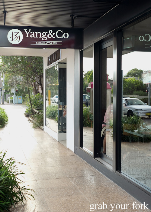 Yang and Co by Chef Lex Wong in Castlecrag
