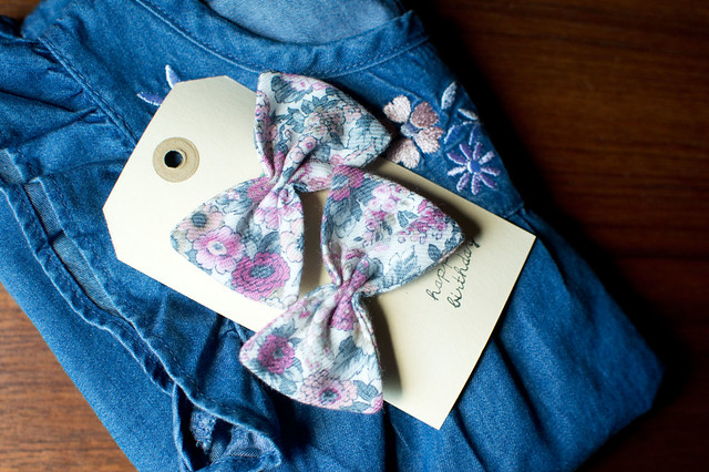 bows and denim
