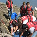 """""""Service Learning on the Missouri River"""" with Owensville students"""