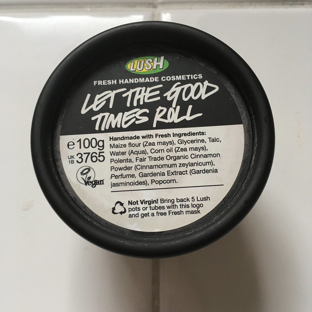 Lush Let the Good Times Roll Face Cleanser