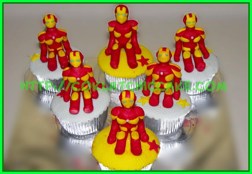 Cupcake Iron Man