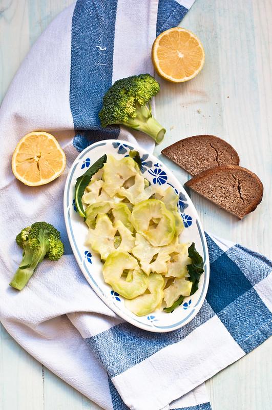 Carpaccio di broccoli