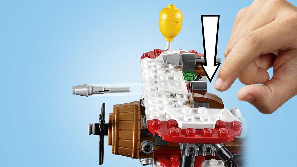 LEGO® 75821~75826【憤怒鳥玩電影】The Angry Birds Movie