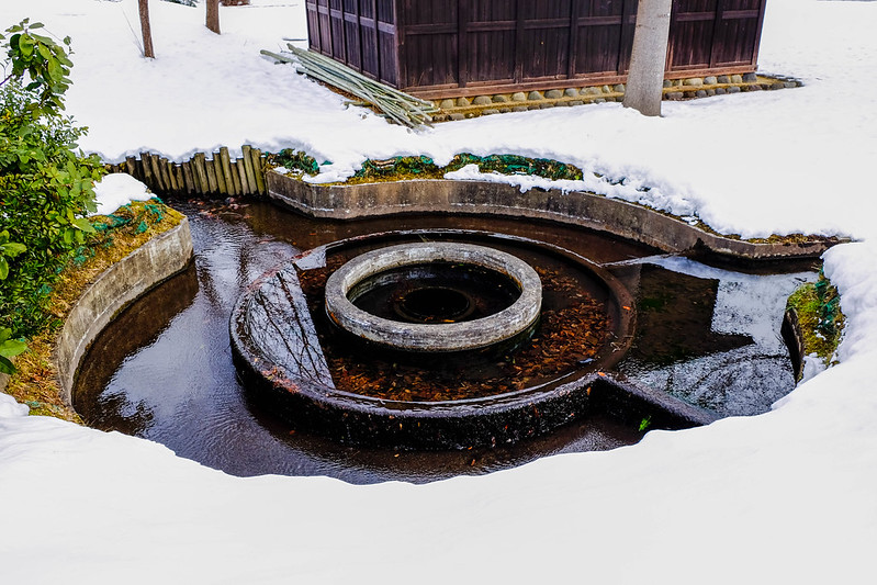 円形分水路・円筒分水