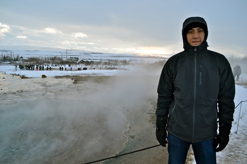 "The main geyser (actually named ""Geysir"") used to be the main attraction, but has stopped erupting in recent years."