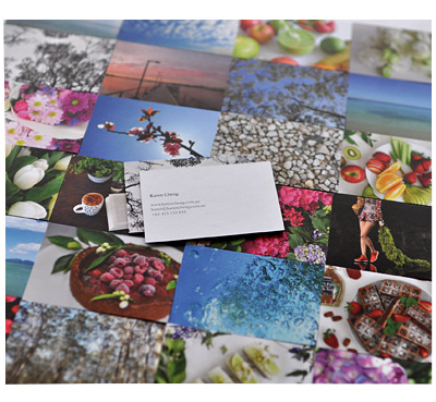 Moo Cards by Karen Cheng
