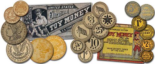 Milton Bradley Play Money