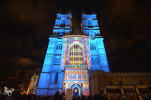 Lumiere London - Westminster Abbey / Patrice Warrener