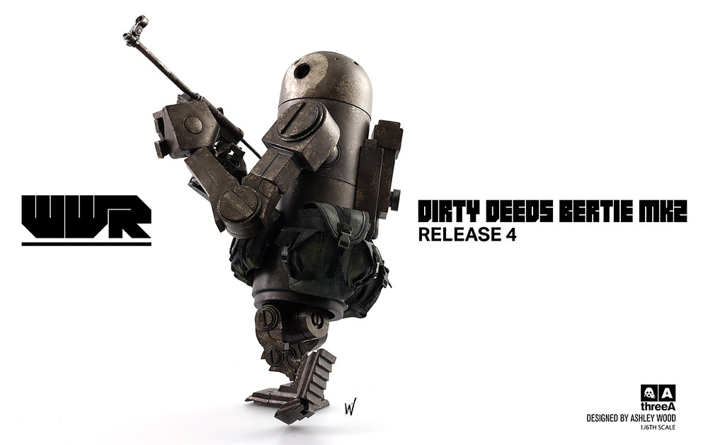 threeA –【DIRTY DEEDS V2 BERTIE MK2】WWR 系列 1/6 比例 第四彈