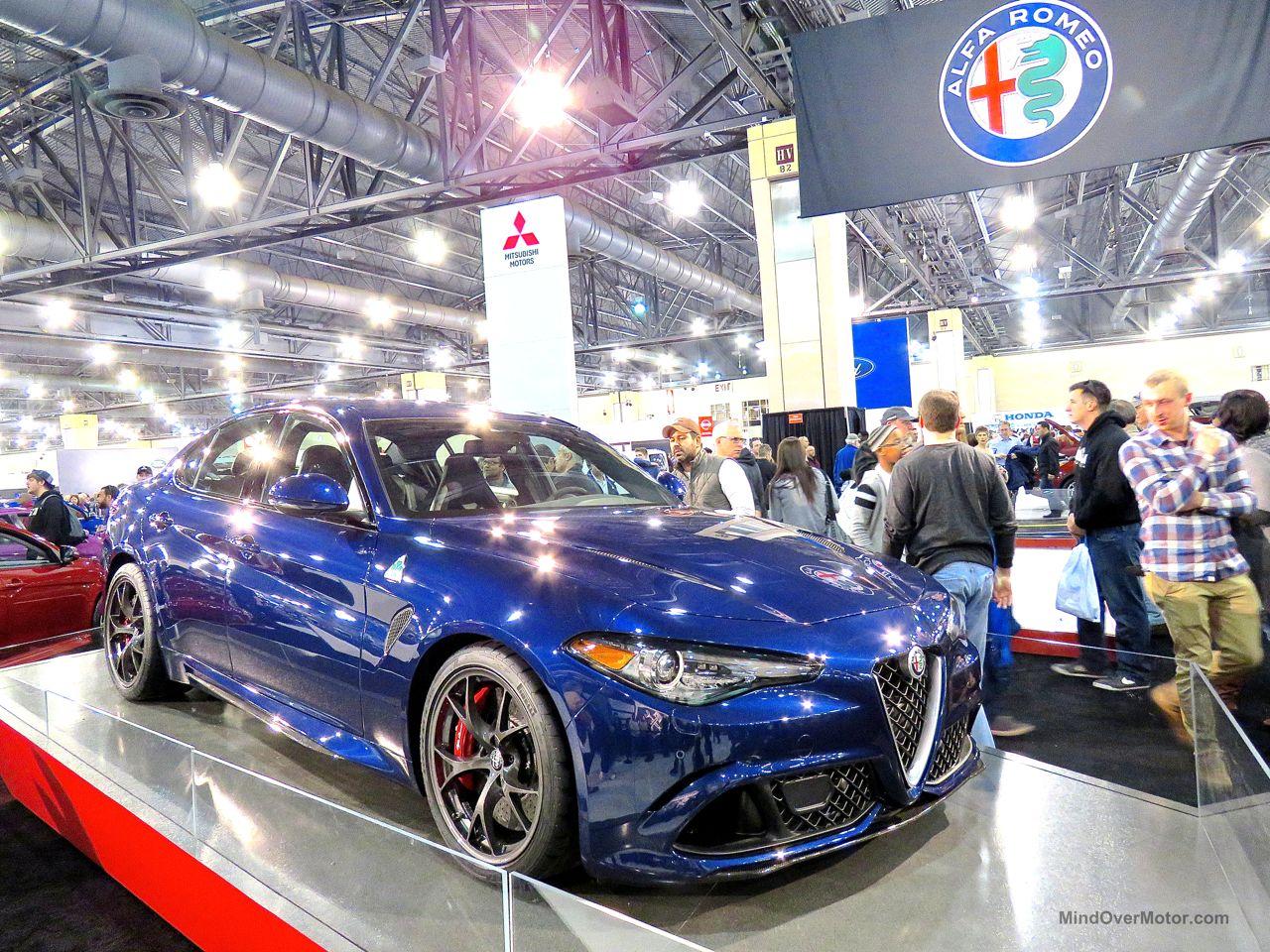 Philly Auto Show 2016 Alfa Romeo Giulia Quadrifoglio