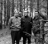 Henry Kissinger, Leonid Brezhnev, Viktor Sukhodrev, hunting farm Zavidovo, May 1973