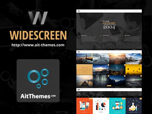 Ait-Themes Widescreen v1.46 - Unique Portfolio Online Store