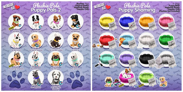 Intrigue Co. - Plushie Pals: Puppy Pals 2