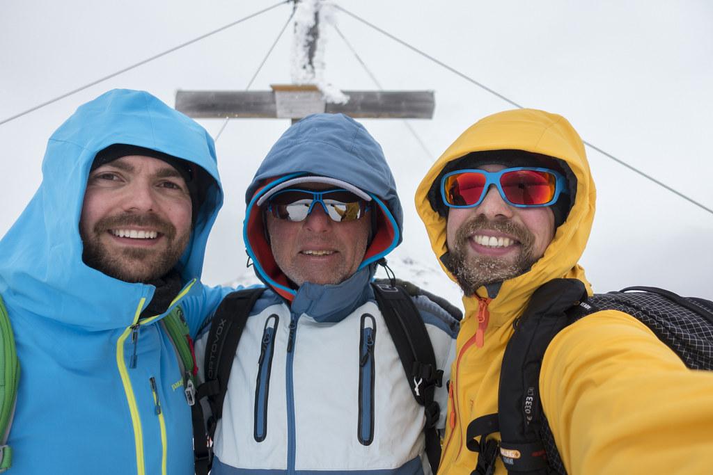 Gensgitsch Summit Selfie!