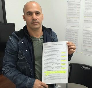 Javier Carrera Califica y Comenta por Escrito sobre el Servicio recibido en Municipal Credit Service Corp