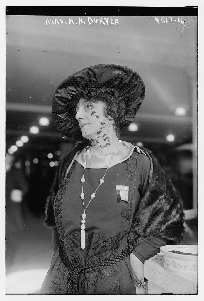 Mrs. H.K. Duryea (LOC)