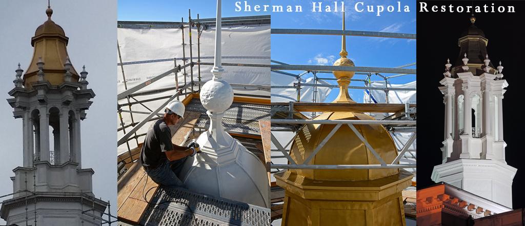 Sherman Banner Collage