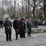 Тожественный митинг в честь Дня защитника Отечества