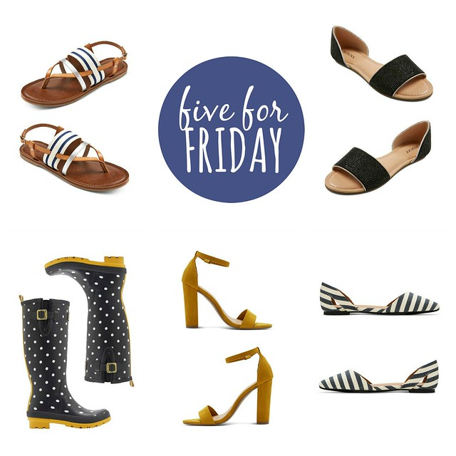 five for friday, Target spring shoes; Style On Target